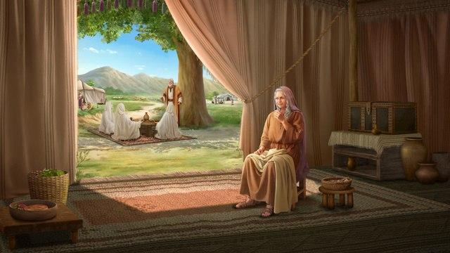 Dios promete dar un hijo a Abraham