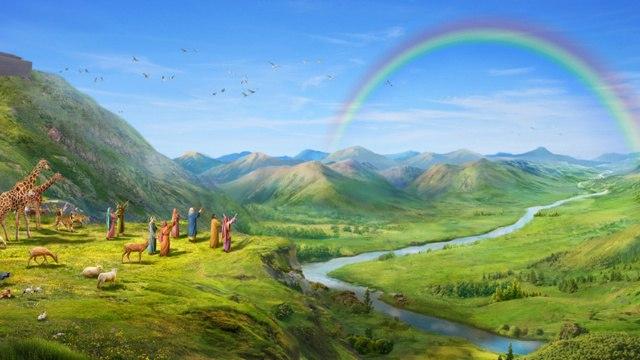 Dios convierte el arco iris en símbolo de Su pacto con el hombre