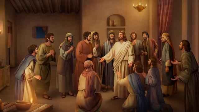 ¿Por qué Jesus se aparece a sus discipulos después de Su resurrección?