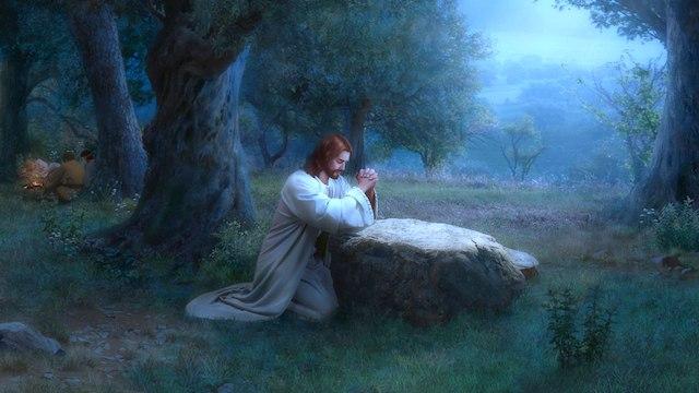 Jesucristo es Dios, ¿por qué oraba a Dios en el cielo?