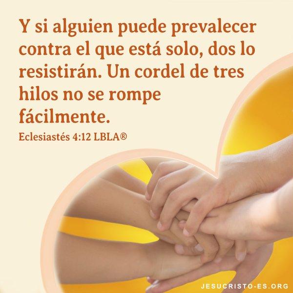 Versículos Bíblicos - Ecclesiastes 4: 12