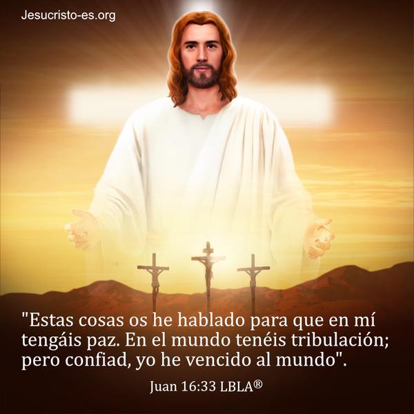 Versículos de la Biblia - Juan 16:33