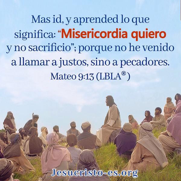 Versículos de la Biblia - Mateo 9:13
