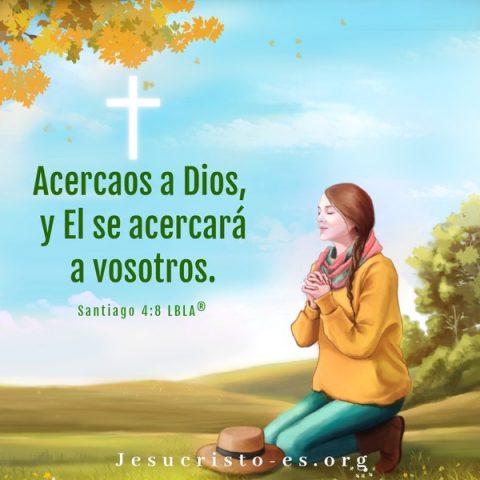 Santiago 4-8 Acérquense a Dios