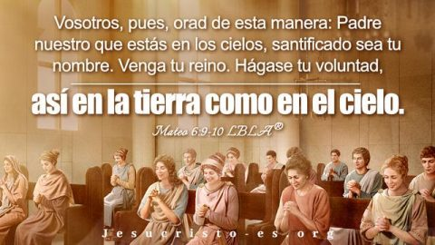Versículos de la Biblia sobre la enseñanza de la oración del Señor Jesús