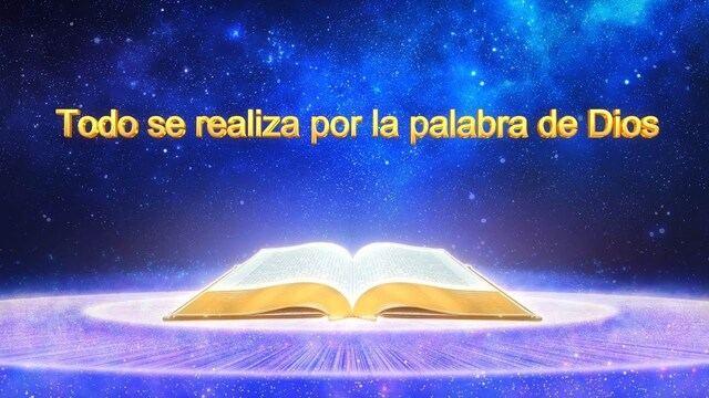 """""""Todo se realiza por la palabra de Dios"""" Las palabras del Espíritu Santo"""
