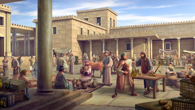Expulsión de los mercaderes del Templo,crisis de la iglesia