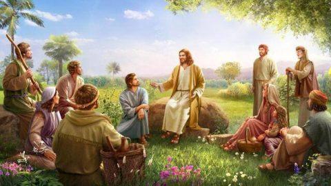 Jesús predicando,como discernir la voz de dios