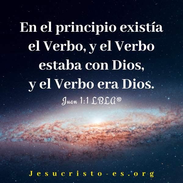 Versículos de la Biblia - Juan 1:1