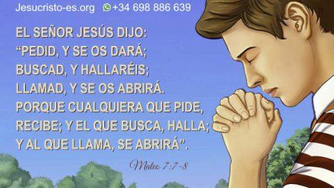 Versículos de la Biblia sobre la Oración