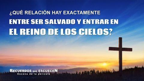 """Película evangélica """"Recuerdos que escuecen"""" Escena 4 - ¿Qué relación hay exactamente entre ser salvado y entrar en el reino de los cielos?"""
