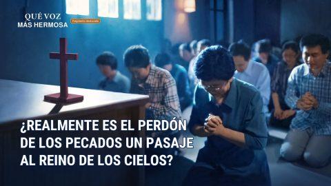 """Película evangélica """"Qué voz más hermosa"""" Escena 4 - ¿Realmente es el perdón de los pecados un pasaje al reino de los cielos? (Español Latino)"""